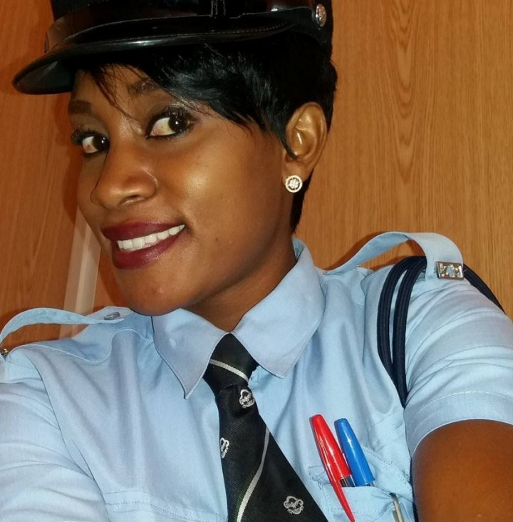 Zambian Policewomen Rocking it Mamsie Lungu